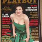 Playboy Magazine - December 1990 Jay leno, Andrew Dice Clay, Sherilyn Fenn, Religion & politics