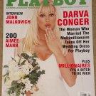 Playboy Magazine - August 2000 Darva Conger, John Malkovich, Aimee Mann, millionaires