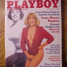 Playboy Magazine - August 1984 Terry Moore Hughes, Richard Lamm, Bobby Knight, Kurt Russell