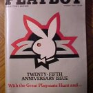 Playboy Magazine - January 1979 25th anniversary, Marlon Brando, Bill Cosby, discos