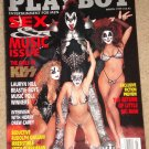 Playboy Magazine - March 1999 KISS pictorial, Gene Simmons, Lauryn Hill, Drew Carey
