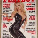 Playboy Magazine - April 1999 (B) WWF Sable nude, Nick Nolte, spring break webcam sex