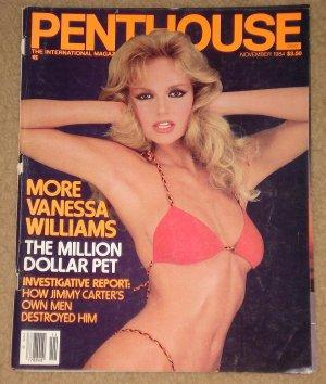Penthouse magazine - November 1984, Vanessa Williams, Heavy Metal, porn stars,