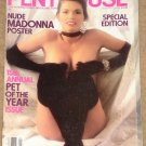 Penthouse magazine - January 1986, 15th annual pet of the year issue, Afghan holy war, Kathy Keeton