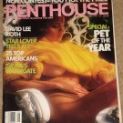 Penthouse magazine - January 1987 David lee Roth (Van halen) 25 top Americans, Death row