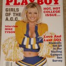 Playboy Magazine - November 1998 (C) Girls of the ACC Mike Tyson Love & lust college Jimmy Hoffa