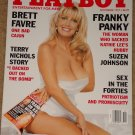 Playboy Magazine - November 1997 (B) Brett Favre, Terry Nichols, Suzen Johnson, sex in the 1940's