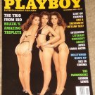 Playboy Magazine - November 1993 (B) Brazillian triplets, college sex, Lennox Lewis, Hollywood