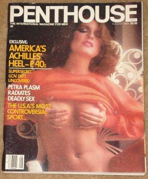 Penthouse magazine - August 1985 The Survival game, Ethiopia, John Mellencamp
