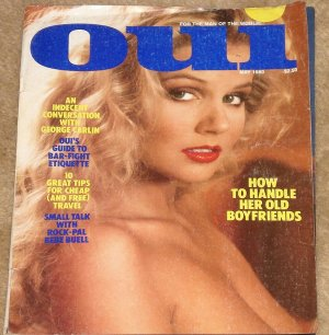 Oui Magazine - May 1980 George Carlin, Bar fight etiquette, Bebe Buell, Tips for free travel