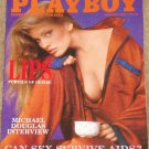 Playboy Magazine - February 1986 Michael Douglas, AIDS, John Mellencamp, LIPS