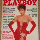 Playboy Magazine - December 1983 Tom Selleck, Joan Collins, Christmas issue, sex stars of 1983