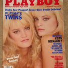 Playboy Magazine - September 1989 Twins! Keith Harnandez, Jeff Daniels, NFL forecast, Morganna