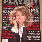 Playboy Magazine - December 1989 Candice Bergen, Woman Wrestlers, Karen Mayo, Patti D'Arbanville,