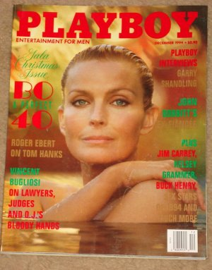 Playboy Magazine - December 1994 Bo Derek, Garry Shandling, Roger Ebert, Jim Carrey