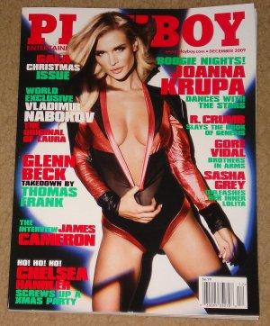 Playboy Magazine - December 2009 Joanna Krupa, Robert Crumb, Glenn Beck, James Cameron