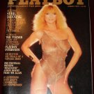 Playboy Magazine - August 1983 Sybil Danning nude, Ted Turner, Tim Hutton, Jan Stephenson