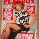 Playboy Magazine - May 1986 Kathleen Turner, Kim Basinger, movies, Harvard Business School