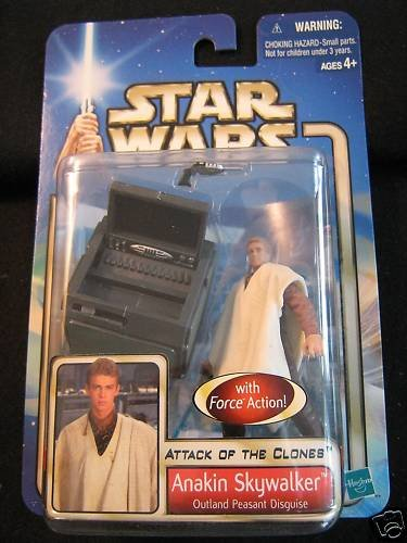 Star Wars AOTC -- MINT in Package -- Anakin Skywalker Outland Peasant Disguise