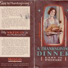 skelgas skelly oil company El Dorado Kansas Thanksgiving pamphlet recipe