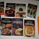 Betty Crockers picture cookbooks 8 booklets in all with holder
