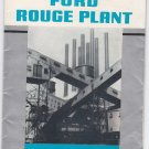 1939 Souvenir foldout map of Ford Rouge Plant