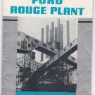 1939 Souvenir foldout map of Ford Rouge Plant