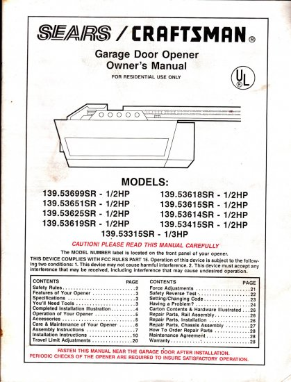 Bdletitbit blog - Garage door installation instructions ...