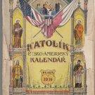Katolik CeskoAmericky Kalendar NA ROK 1930