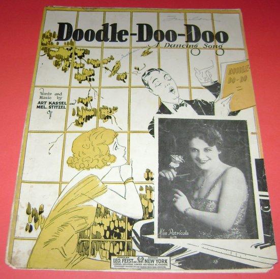 Doodle Doo Doo dancing song Art Kassel Mel.Stitzel Miss Patricola Cover