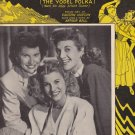 Toolie Oolie Doolie sheet music Vaughn Horton Arthur Buel Cover Andrew Sisters