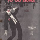 Show me the way to go homke sheet music Irving King