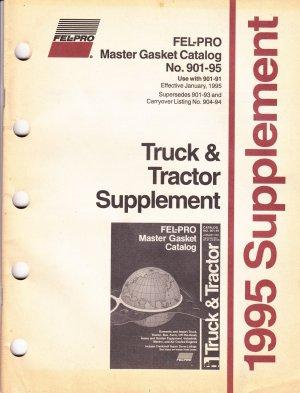 Fel Pro Master Gasket Catalog 1995 NO 901-95