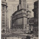 Vintage Postcard Broadway New York City 1934