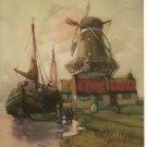 "F. Van Vreeland ""A HOLLAND HIGHWAY""  1931 calendar art print"