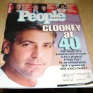 People Magazine May 7 2001 George Clooney at 40