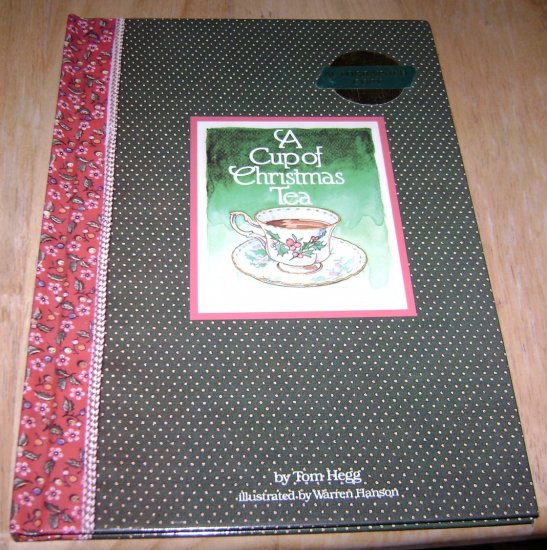 A Cup Of Christmas Tea Tom Hegg Warren Hanson Autographed Copy