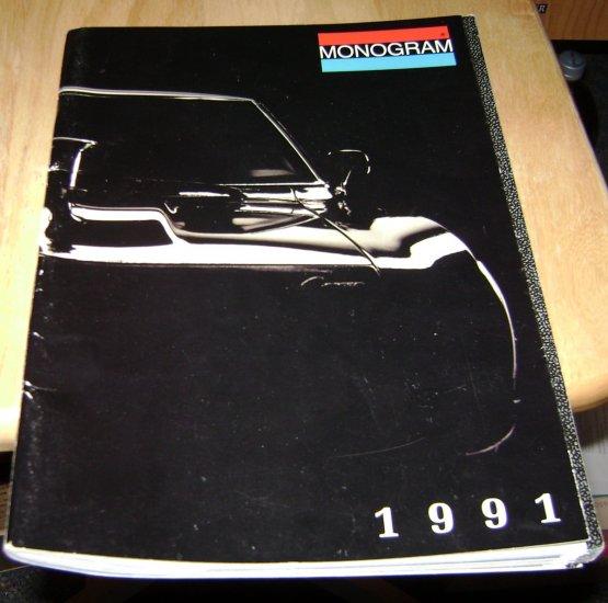 monogram 1991 catolog