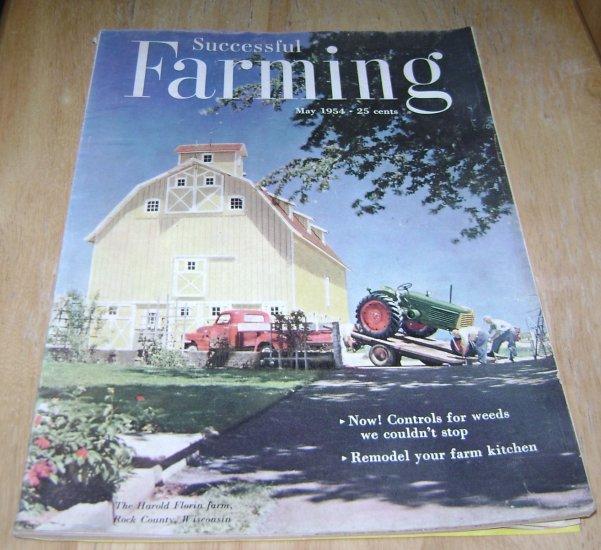 Successful Farming May 1954 Feat Harold Florin Farm