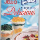 FBNR Jello Cool Whip Simply Delicious recipes
