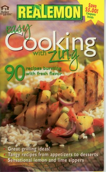 Better your Home Real Lemon easy cooking with zing