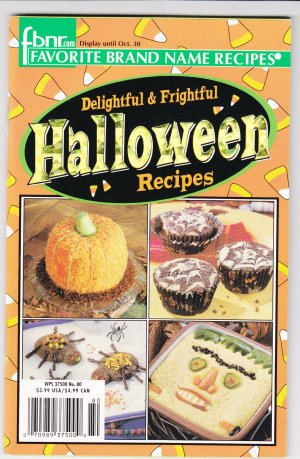 FBNR Halloween Recipes Favorite Brand Name Recipes