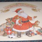 1991 santa claus calendar illustrated by Sherri Buck Baldwin