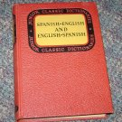 Junior Classic Spanish-English and English-Spanish Dictionary Wessely & Girones