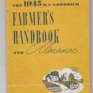 1945 B.F Goodrich Farmers Handbook Anderson Chevrolet Wahoo Nebraska