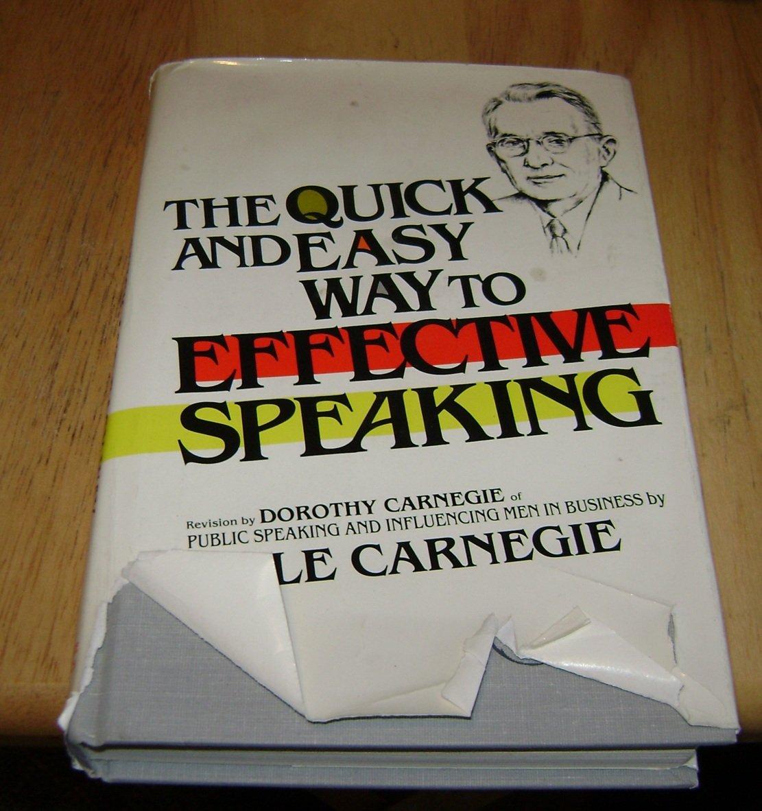 Qucik & easy way to effective speaking Dale Carnegie HC