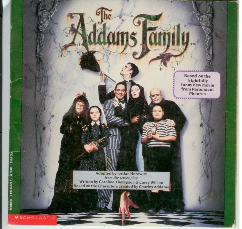 The Addams Family Scholastic booklet