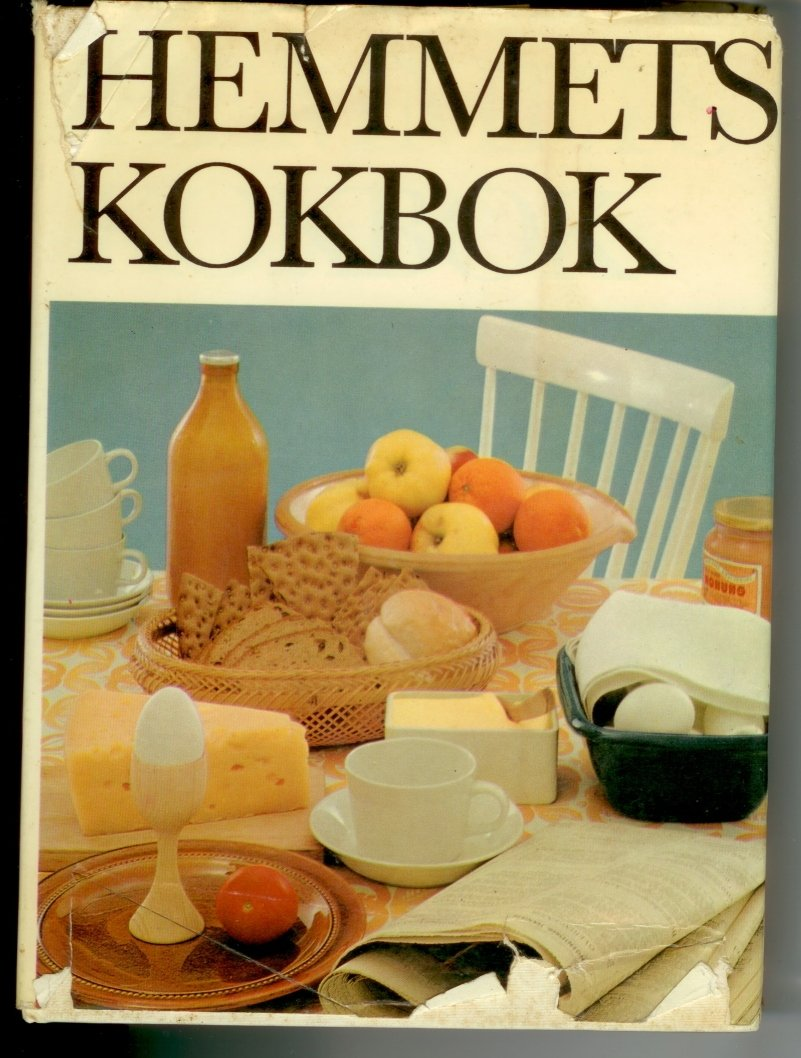 Hemmets Kokbok HC Swedish Cookbook in Swedish