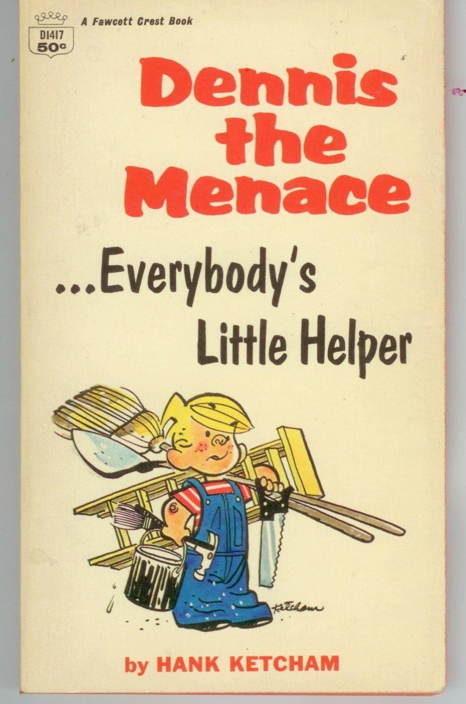 Dennis the Menace Everbody's little Helper Hank Ketchum paperback