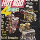 Hot Rod magazine 4 bangers 400 cid camaro/firebird engine swap aug-1986